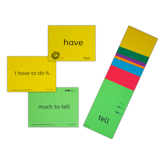 'Kindergarten SNAP And Map' Cards – First 100 HF Words